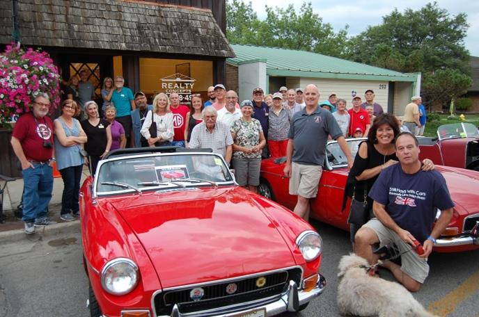 Chicagoland MG Club Car Shows And Cruise Nights - Route 66 cruisers car show list