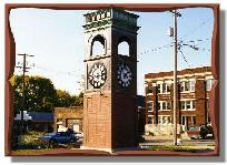 Abingdon clock tower