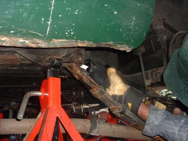 Stumped On Rear Leaf Spring Change Mgb Amp Gt Forum Mg