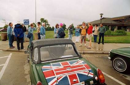 Start of the Lands End Rally