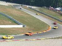 Cars on track turns 6-7 at Road America