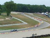 CanAm cars at turns 6 & 7