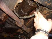 Wiring harness burned on exhaust pipe