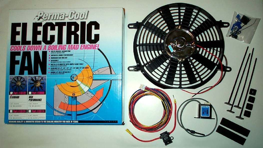 Perma Cool Electric Fan Wiring Diagram. . Wiring Diagram on
