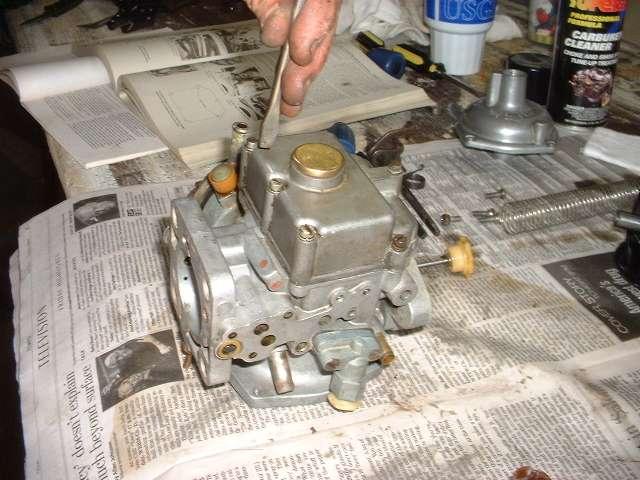 Mg midget carburetor float setting apologise