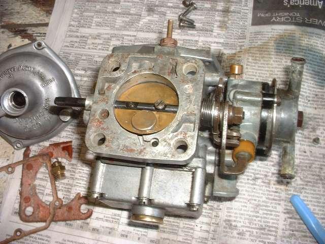 Mg midget carburetor float setting recommend look